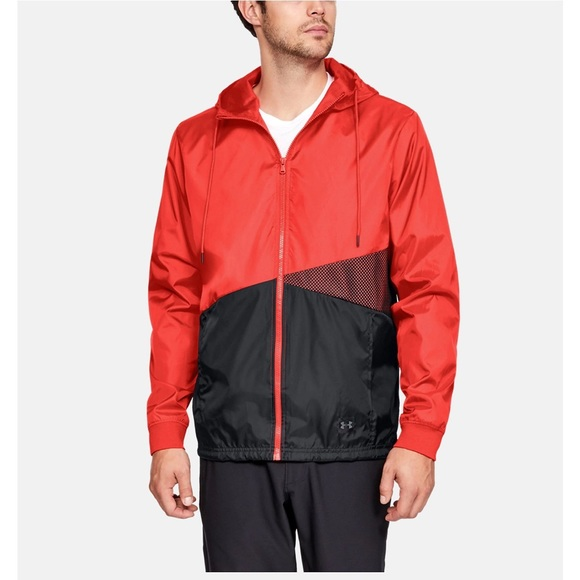 Under Armour Other - Under armour mesh sport style windbreaker